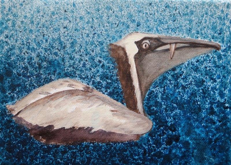 Pelikan mit Wackelzahn